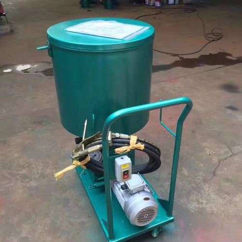 天津移动式电动干油泵DRB P系列